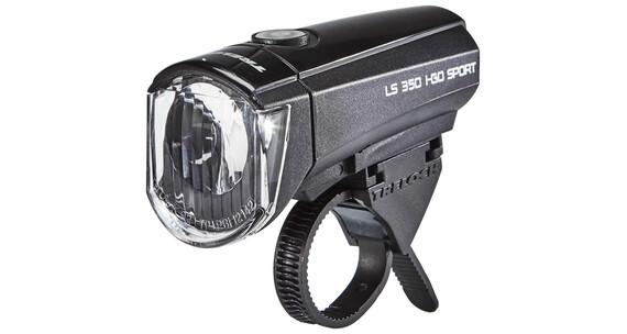Trelock LS 350 I-GO Fietsverlichting Frontscheinwerfer zwart